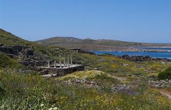 In pics: scenery of Delos, Greece