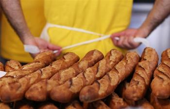 24th bread festival held in Paris