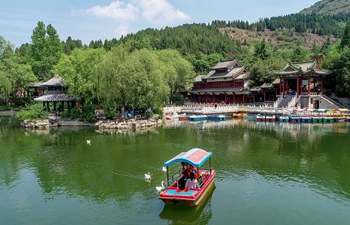 Beautiful scenery of Jinan in east China's Shandong
