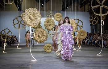 Creations of Alice McCall presented during Fashion Week Australia