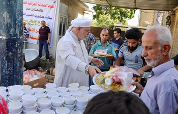 Feature: Chinese embassy offers Iftar meals to Iraqi Muslims in Ramadan