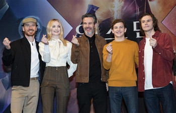 "Press conference held in Seou to promote movie ""X-Men: Dark Phoenix"""