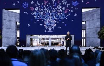 Apple's Worldwide Developer Conference held in California, U.S.
