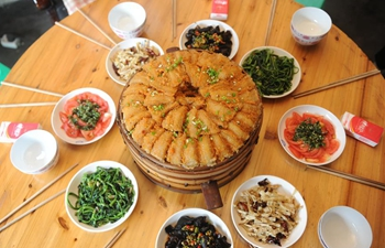 Steamed Longzha, regional cuisine popular in SW China city Chishui
