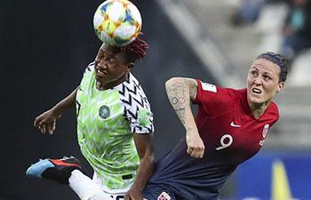 2019 Women's World Cup: Norway beats Nigeria 3-0