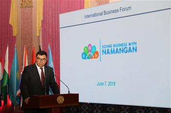 Int'l Business Forum held in Namangan, Uzbekistan