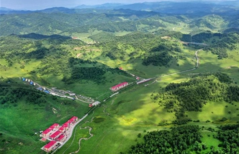 Scenery of Guanshan Grassland in Baoji, NW China's Shaanxi