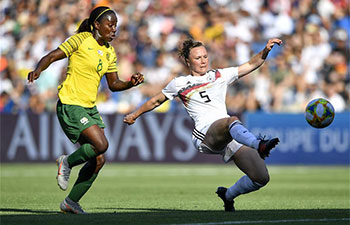 FIFA Women's World Cup: Germany beats South Africa 4-0
