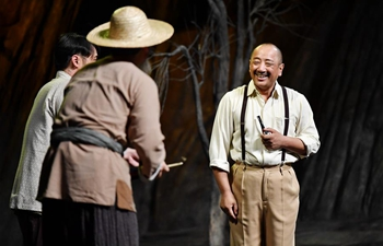 """Theater play """"Liu Qing"""" staged in Xi'an, NW China's Shaanxi"""