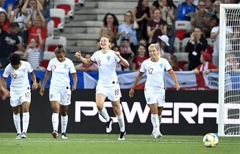 White's brace gives England comfort win over Japan to top Group D