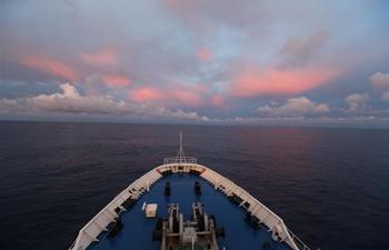China's spacecraft tracking ship Yuanwang-3 crosses equator