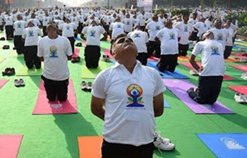 International Yoga Day marked in India