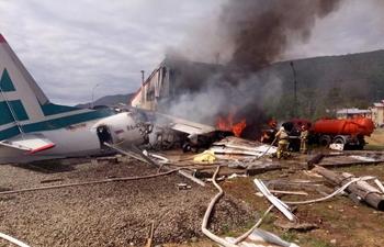 2 pilots killed in airplane emergency landing in Russia's Buryatia
