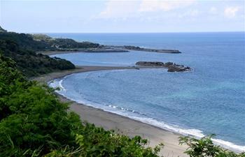 In pics: Scenery on eastern coast of Taitung, SE China's Taiwan