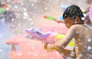 Kids enjoy leisure time in central China's Hunan