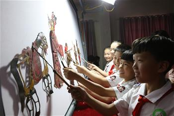 Students enjoy summer vacation across China