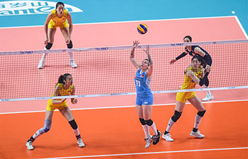 2019 FIVB Volleyball Nations League Finals Women: China vs. Turkey