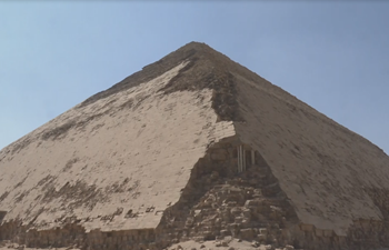 """Egypt opens ancient """"Bent Pyramid"""" to visitors for 1st time"""