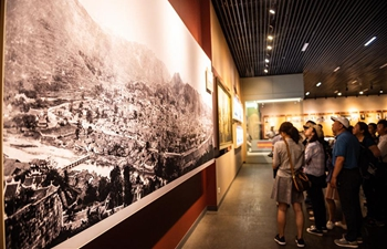 People visit museum of Zunyi Conference in SW China's Guizhou