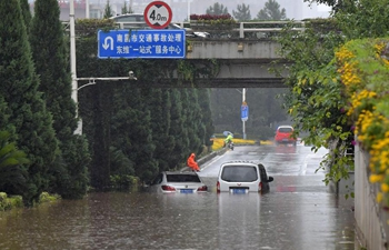 Rainstorm hits Nanchang, E China