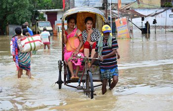 Flood hits Northeastern state of Tripura, India