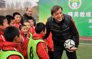 Pic story of foreign football coach in China