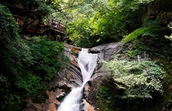 Scenery of Taiping National Forest Park in Xi'an