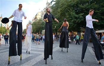 11th Prague Int'l Street Theatre Festival closes in Czech Republic