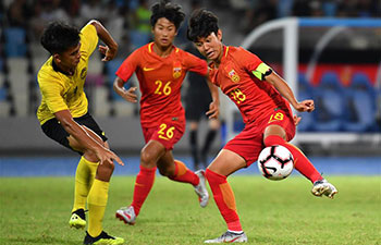 China vs. Malaysia at Int'l Youth Football Tournament