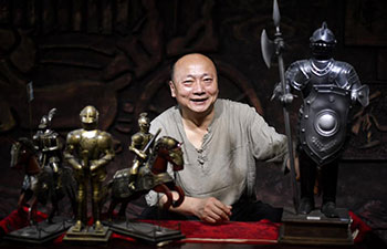 Pic story: artisan obsessed with handicrafts in China's Jilin