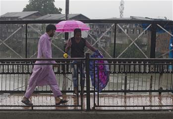 Meteorological department in Indian-controlled Kashmir predicts two-day spell of rains