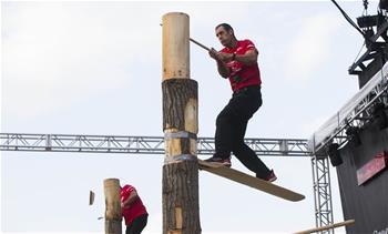 2019 STIHL Timbersports Canadian Championship kicks off