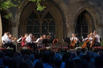 Vajdahunyad Castle Summer Music Festival held in Budapest, Hungary