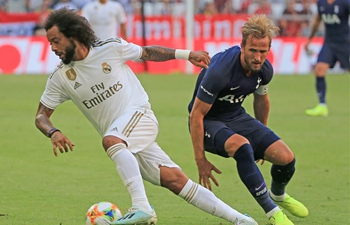 Tottenham Hotspur defeats Real Madrid 1-0 at Audi Cup semifinal match