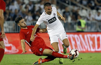 Partizan beats Connahs Quay Nomads 3-0 at UEFA Europa League qualifier