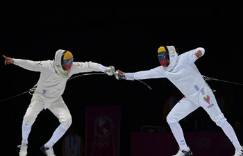Ruben Limardo wins men's individual epee Gold Medal Bout