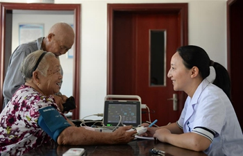 Pic story of village doctor in east China's Anhui