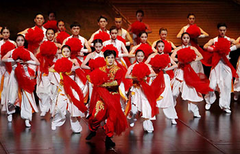 Charity dance performance held in Shanghai
