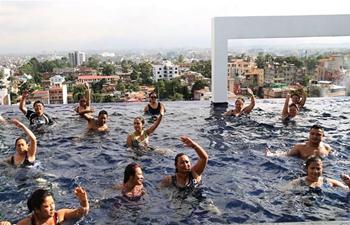 Aqua Zumba gets popular in Nepal