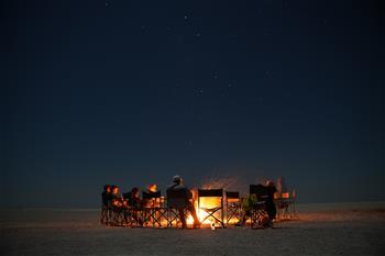 In pics: Makgadikgadi salt pan in northern part of Botswana
