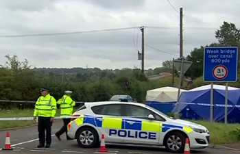10 suspects arrested after policeman killed in Berkshire