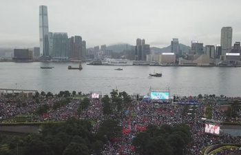 """More than 476,000 attend """"Oppose violence, save Hong Kong"""" rally"""