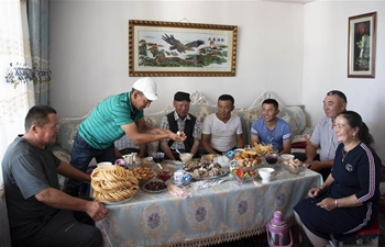 In pics: new life of Kazak herdsmen in Qinghe County, China's Xinjiang