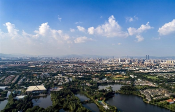 General view of Kunming, SW China