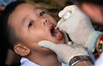 Anti-polio campaign launched in Manila, the Philippines