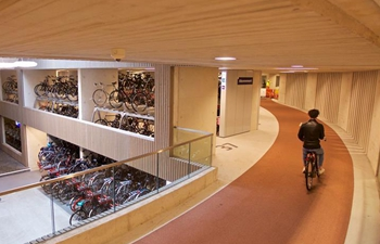 In pics: new parking facility in Utrecht, the Netherlands