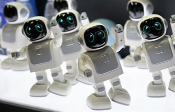 Cutting-edge technologies, products displayed at World Robot Exhibition in Beijing