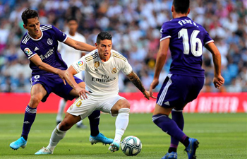 Spanish league soccer match: Real Madrid vs. Valladolid