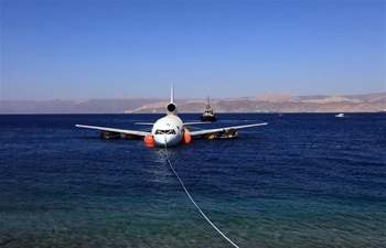 ASEZA in Jordan sinks disused commercial aircraft to help boost marine life
