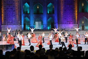12th Sharq Taronalari Int'l music festival held in Samarkand, Uzbekistan